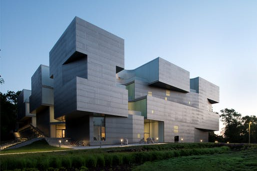 Top Excellence Award winner: University of Iowa Visual Arts Building. Image: Mark Kempf Photography.