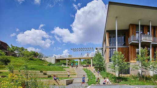 Pittsburgh's Frick Environmental Center by Bohlin Cywinski Jackson is one of eight Awards of Excellence winners. Photo: Ed Massery.