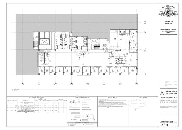 MGM (Partition plan) in Revit