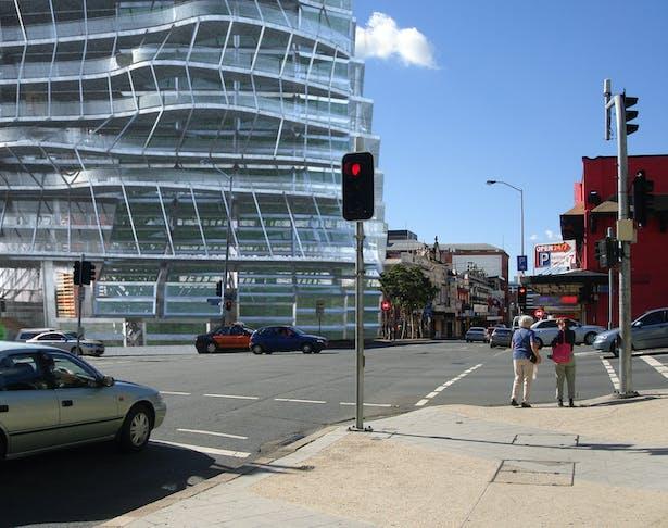 Corner of Building in Site
