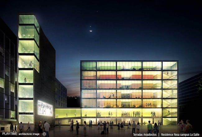 Terradas Arquitectos - Residencia Resa Campus La Salle 02