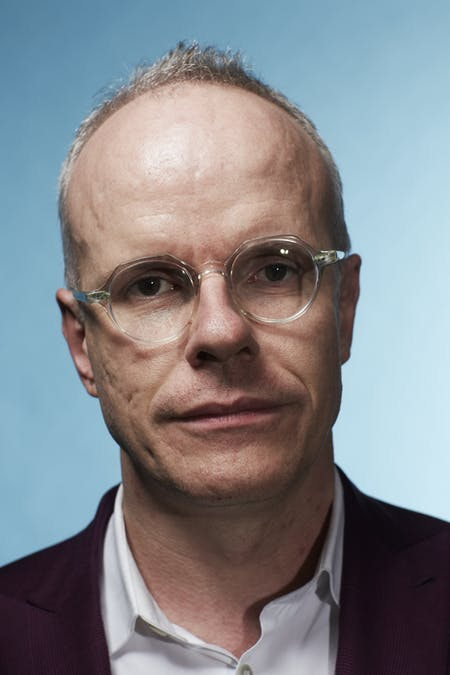 Hans-Ulrich Obrist. Photo by Roe Ethridge.