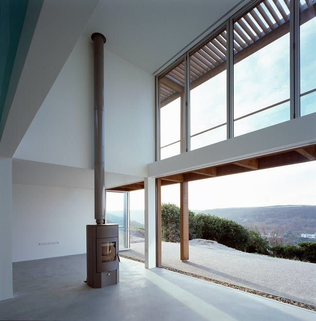 Two Passive Solar Gain Houses by Simon Conder Associates (Photo: Paul Smoothy)