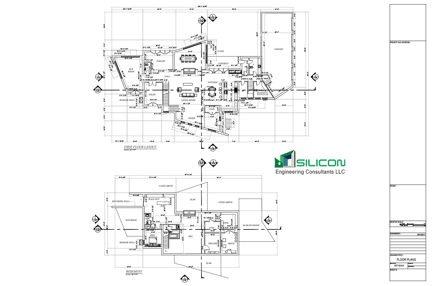 Architectural Drafting Services   Silicon Engineering Consultants LLC