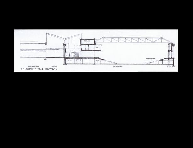 Cross Section of the Building