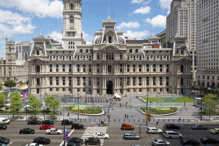 Dilworth Park, Philadelphia, PA. Photo © James Ewing Photography.