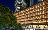Tzannes' design for the International House Sydney reveals the unique beauty of timber