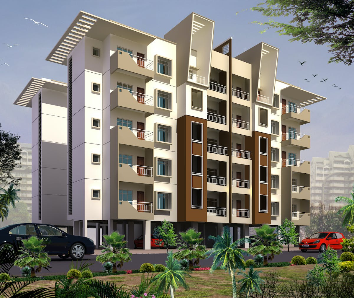 Affordable Appartments: Affordable Housing Scheme Under JNNURM's BUSP-on PPP Model