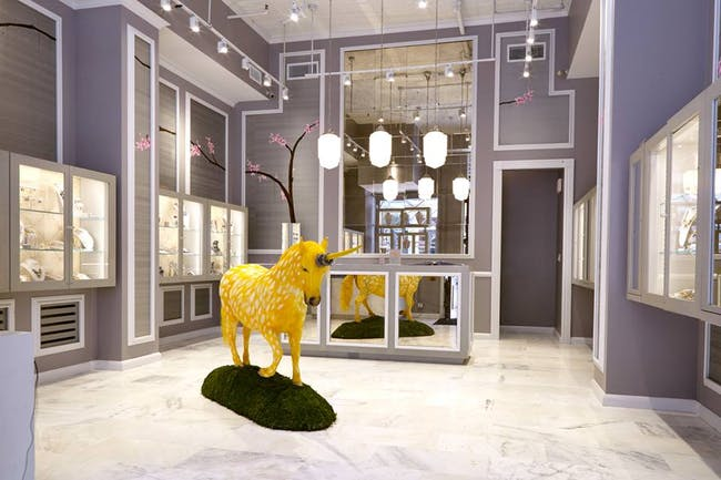 Alexis Bittar (Broome St. NYC) by Two One Two Design. Photo: Rick Wenner