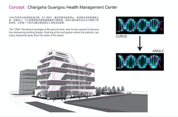 Changsha Stem cell Clinic   Valerio Mancini   Archinect