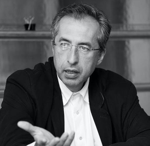 2018 European Prize for Architecture laureate: Sergei Tchoban. Photograph by Lichtschwaermer Christo Libuda.