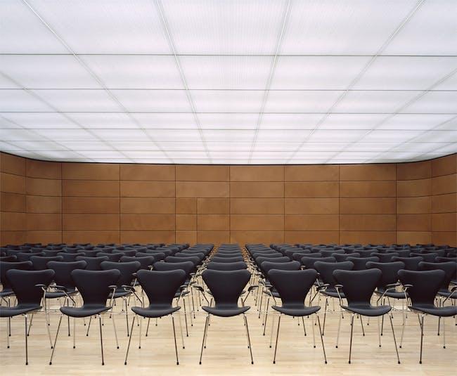 Deloitte Touche Tohmatsu in Copenhagen, Denmark by 3XN architects; Translucent Ceiling Panels: Hunter Douglas Contract