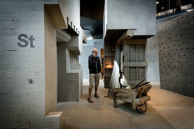 Army of Concrete exhibition. Photo: Mike Bink.