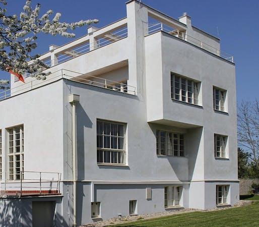 A live stream tour of Adolf Loos' Villa Winternitz