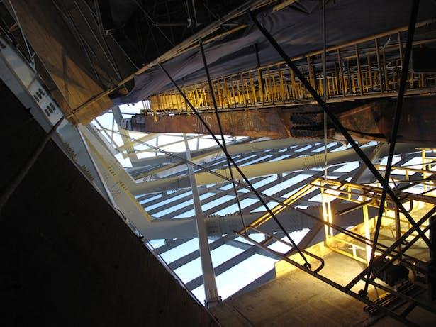 WTC VOEC Atrium Primary Structure and Tridents