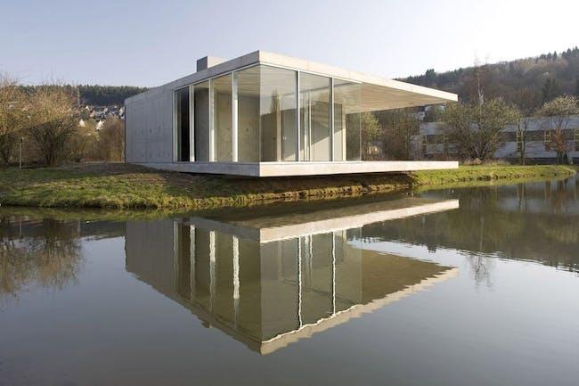 Pavilion in Siegen, Germany by Ian Shaw Architekten (Photo: Felix Krumbholz)