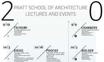 Get Lectured: Pratt Institute Fall '13
