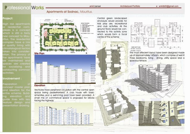 Plan and views
