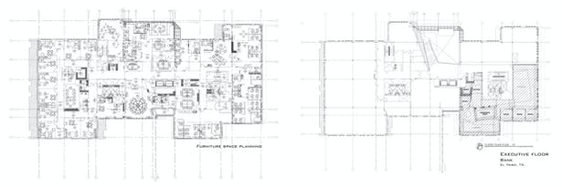 Bank floor plans