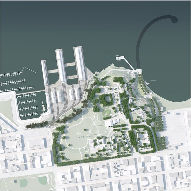 West 8 wins fort mason ideas competition gallery archinect for West 8 architecture