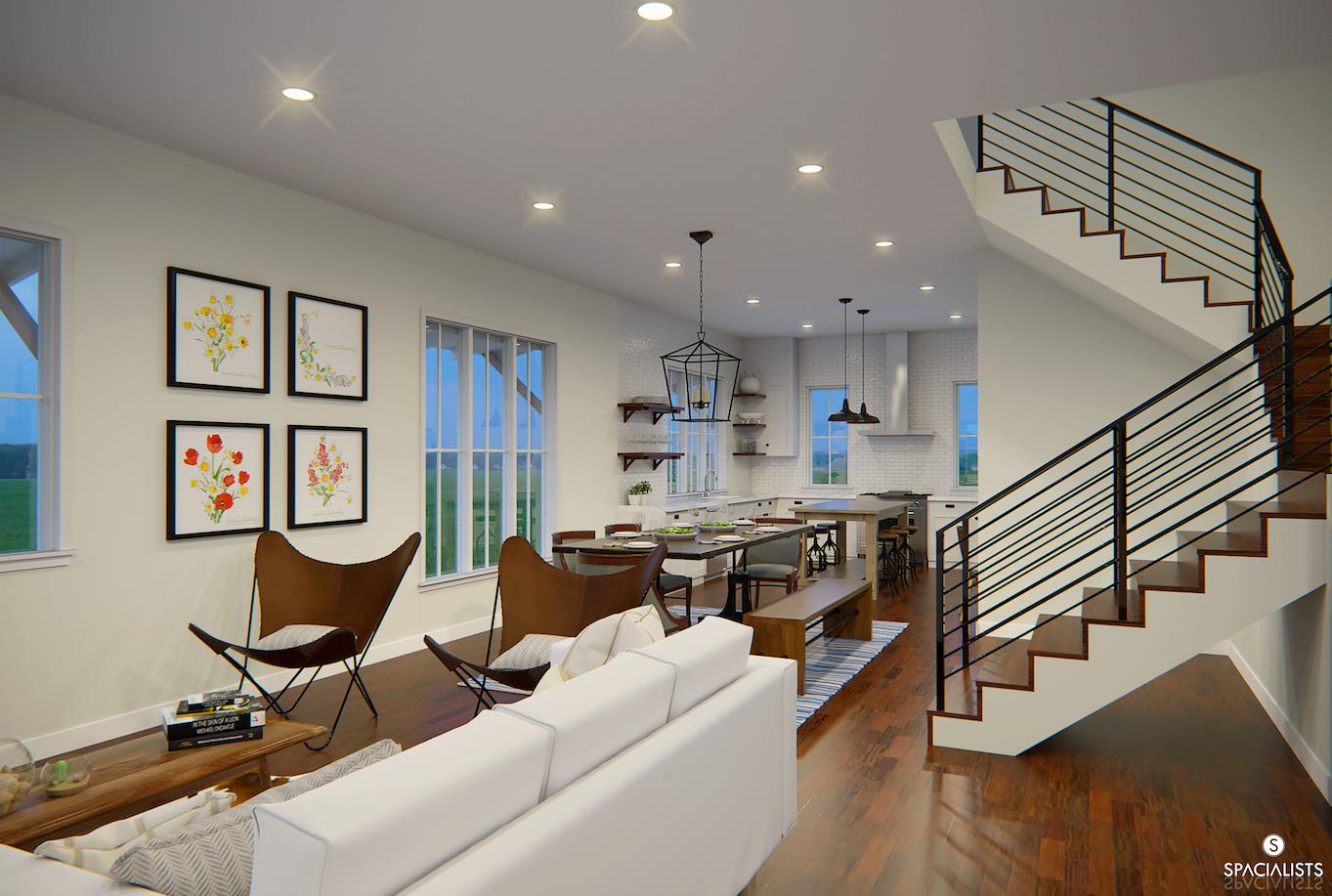 Rendering renderings 3d artist rendition 3d model