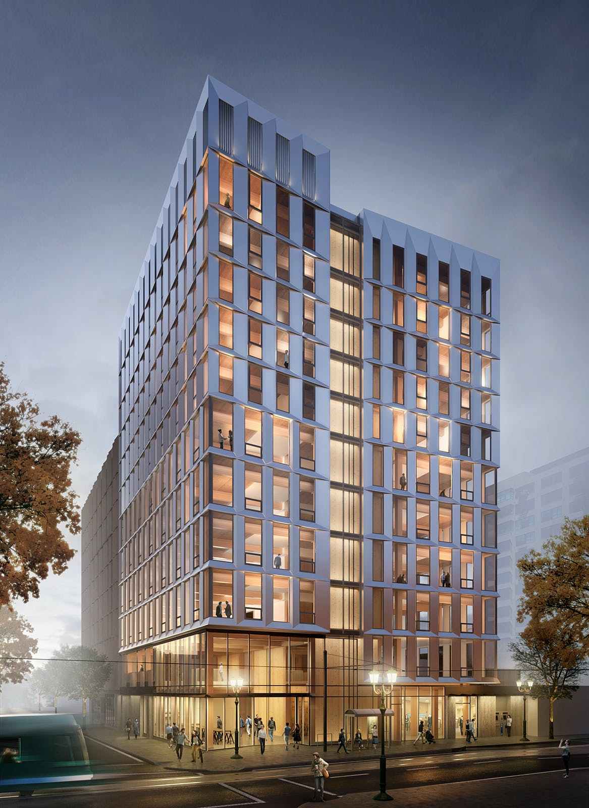 First mass timber high-rise building to be permitted in ...