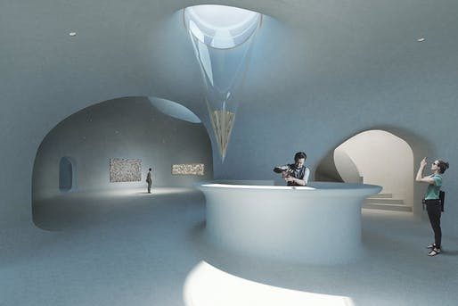 Dune Art Space. Image courtesy of OPEN Architecture.