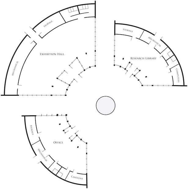 8th Scale Building Plan