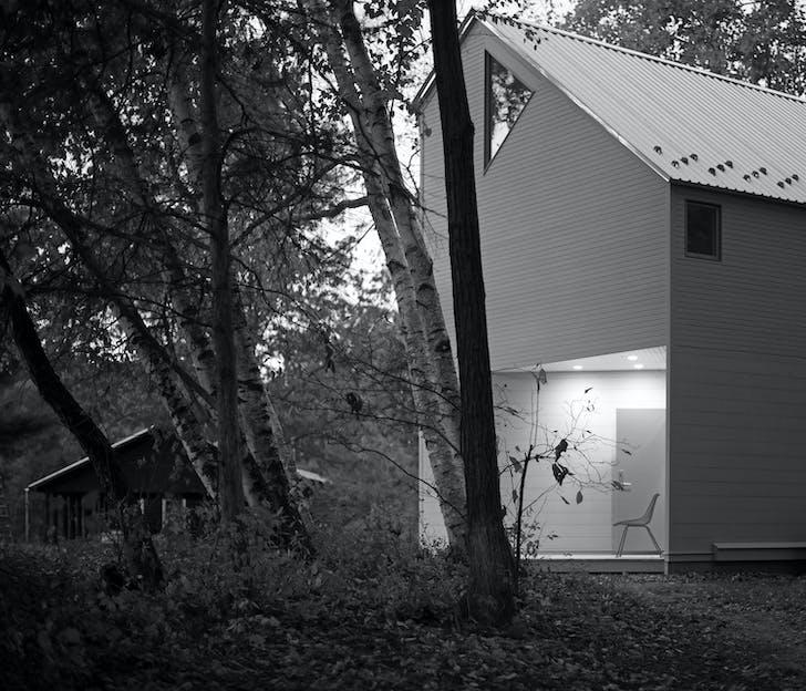 Upstate NY Studio by Stan Allen Architect. Courtesy of Scott Benedict.