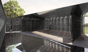 Construction begins on 2018 Serpentine Pavilion