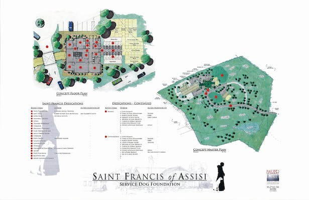 St. Francis of Assisi Dog Kennel and Park - Site Plan