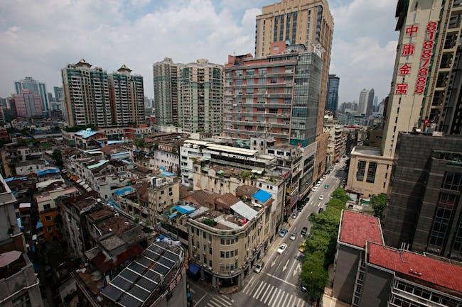 Guangzhou in 2015. Image via the Guardian
