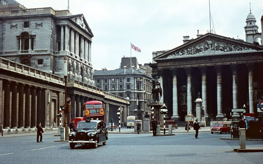 London in 1963, as Penn State's first official study abroad students would have seen it. Image: Panoramio.