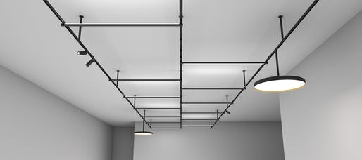 Best Lighting Fixtures - Flos: Infra-Structure, by Vincent Van Duysen. Photo credit: Azure