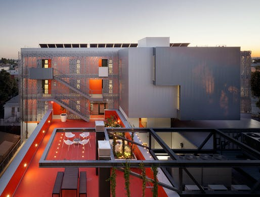 28th Street Apartments in Los Angeles by Koning Eizenberg Architecture. Photo © Eric Staudenmaier.