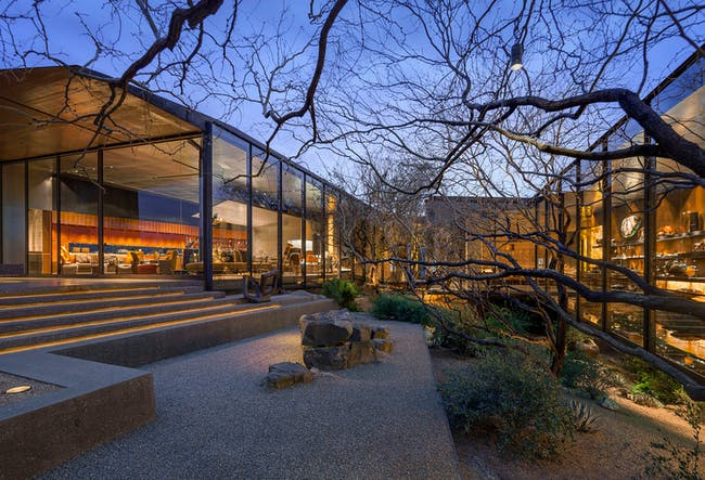 DESERT COURTYARD HOUSE - Scottsdale, Arizona, USA. Designed by Wendell Burnette Architects. Photo courtesy of Designs of the Year 2015.