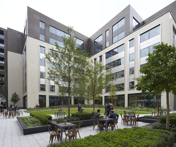 Rathbone Square is home to Facebook's new London HQ (c)Edmund Sumner