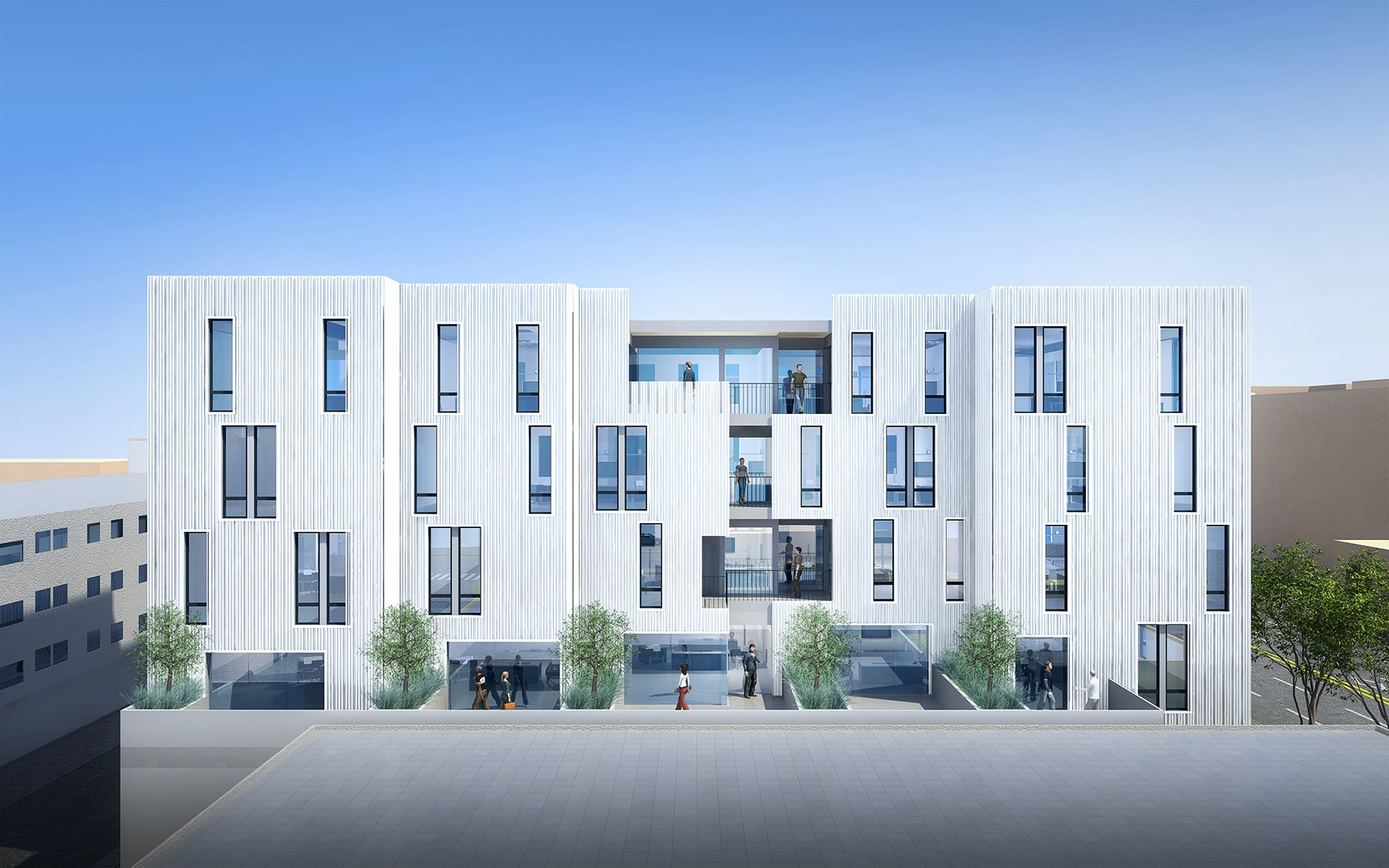Brooks + Scarpau0027s Mixed Use Complex Featuring Low Income Housing To Break  Ground