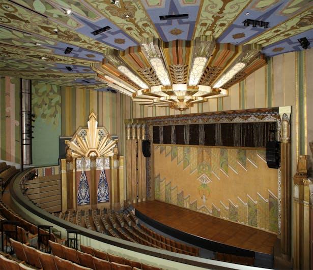 Spokane Fox Theater House Overall