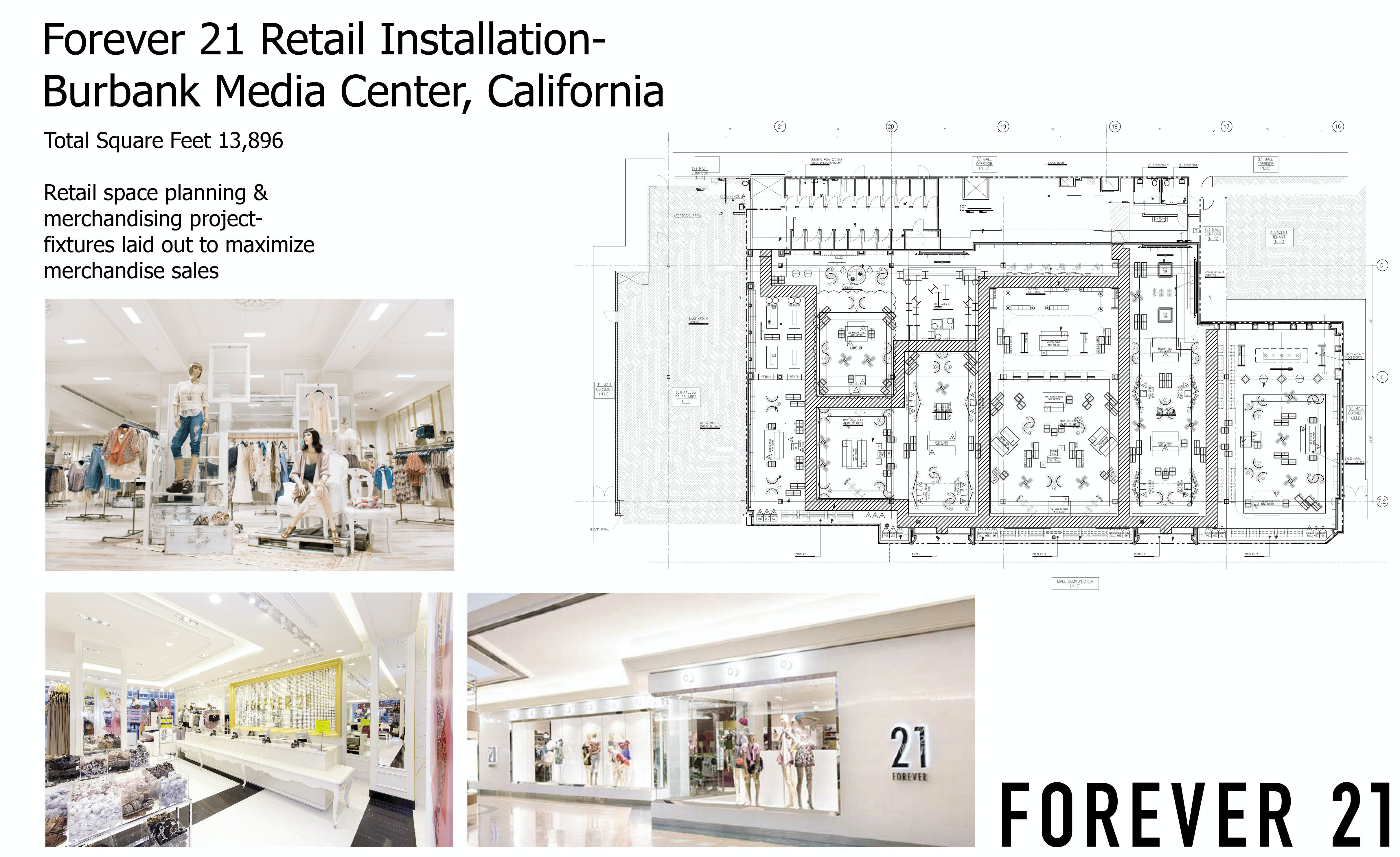 forever 21 retail store michelle haight archinect