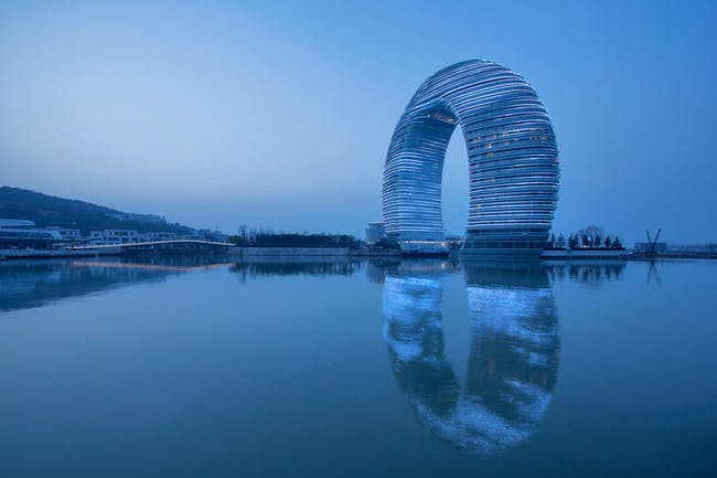 3. Sheraton Huzhou Hot Spring Resort (Huzhou, China) by MAD with Shanghai Xian Dai Architecture. Photo © Xiazhi