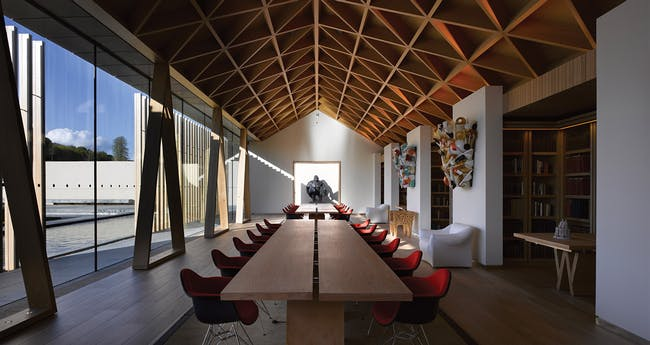 Public Building award: Stephen Marshall Architects, with Rothschild Archive, UK