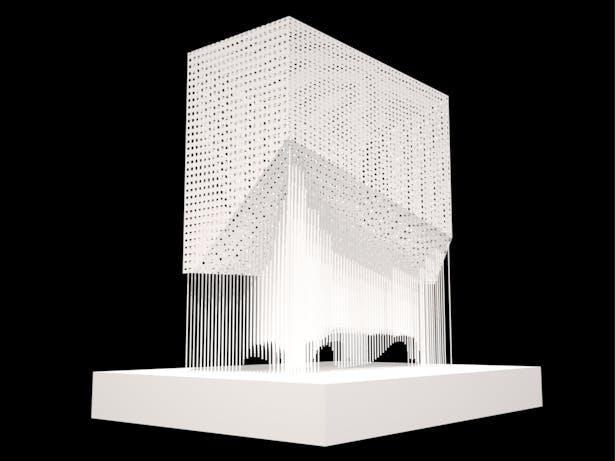 Monument 2 - White Powder Coat Variant