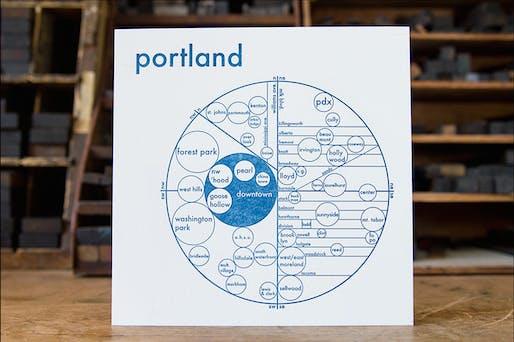 A mental map of Portland (photo via FastCompany)