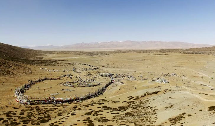 Screenshot from 'Saga Dawa' film, on the eponymous Tibetan festival. Image via studiorede.com.