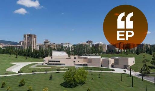 the new Museo Universidad Navarra PR