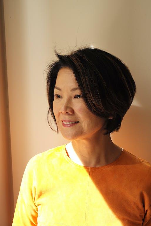 Toshiko Mori. Photograph by Ralph Gibson.