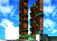 'Suspended garden' Tower