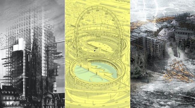 The winning results of d3 Unbuilt Visions 2014