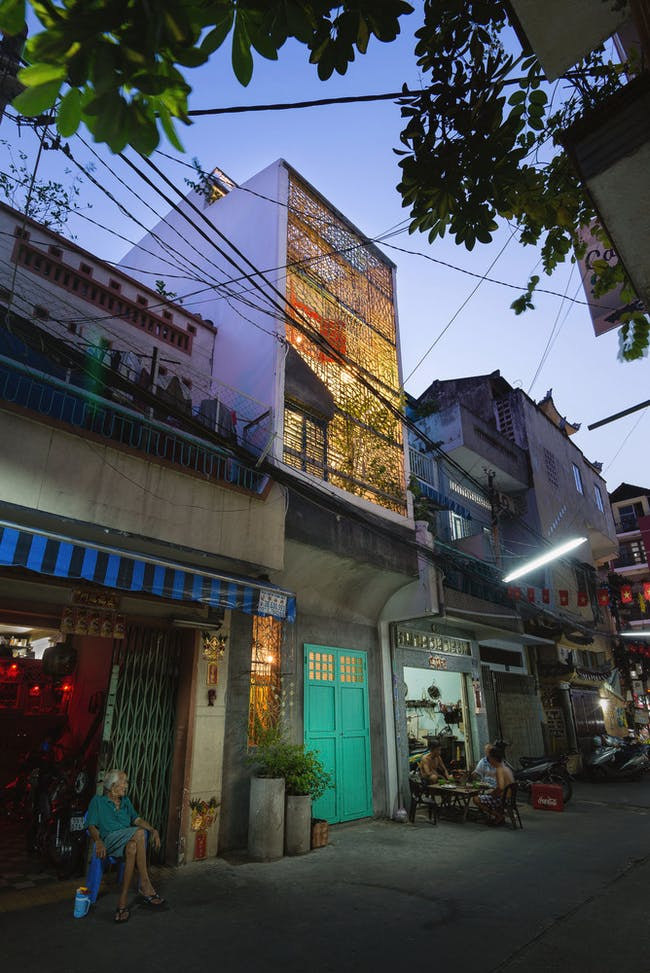 COMPLETED BUILDINGS - HOUSE: Saigon House / Vietnam. Designed by a21 Studio